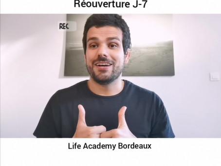 Réouverture J-7