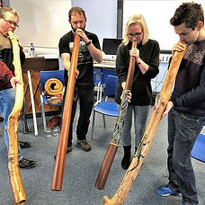 A great Didgeridoo Taster session at one