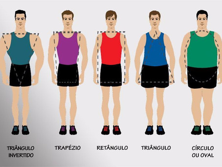 Biotipos masculinos, você sabe definir o seu?