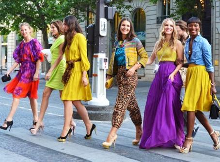 O significado das cores na moda. PARTE I - Cores Vivas