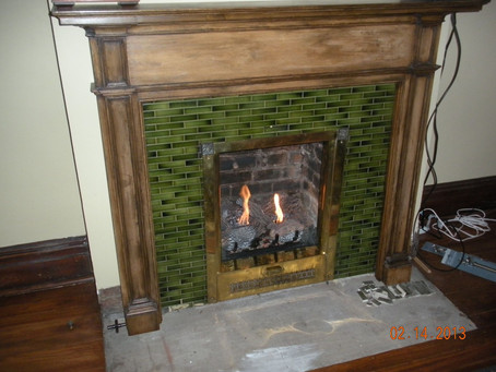 Ideas From Ed: Not Afraid of a Little Hearth Work
