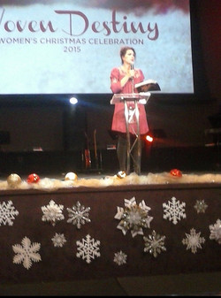 Sharon Anderson ministering