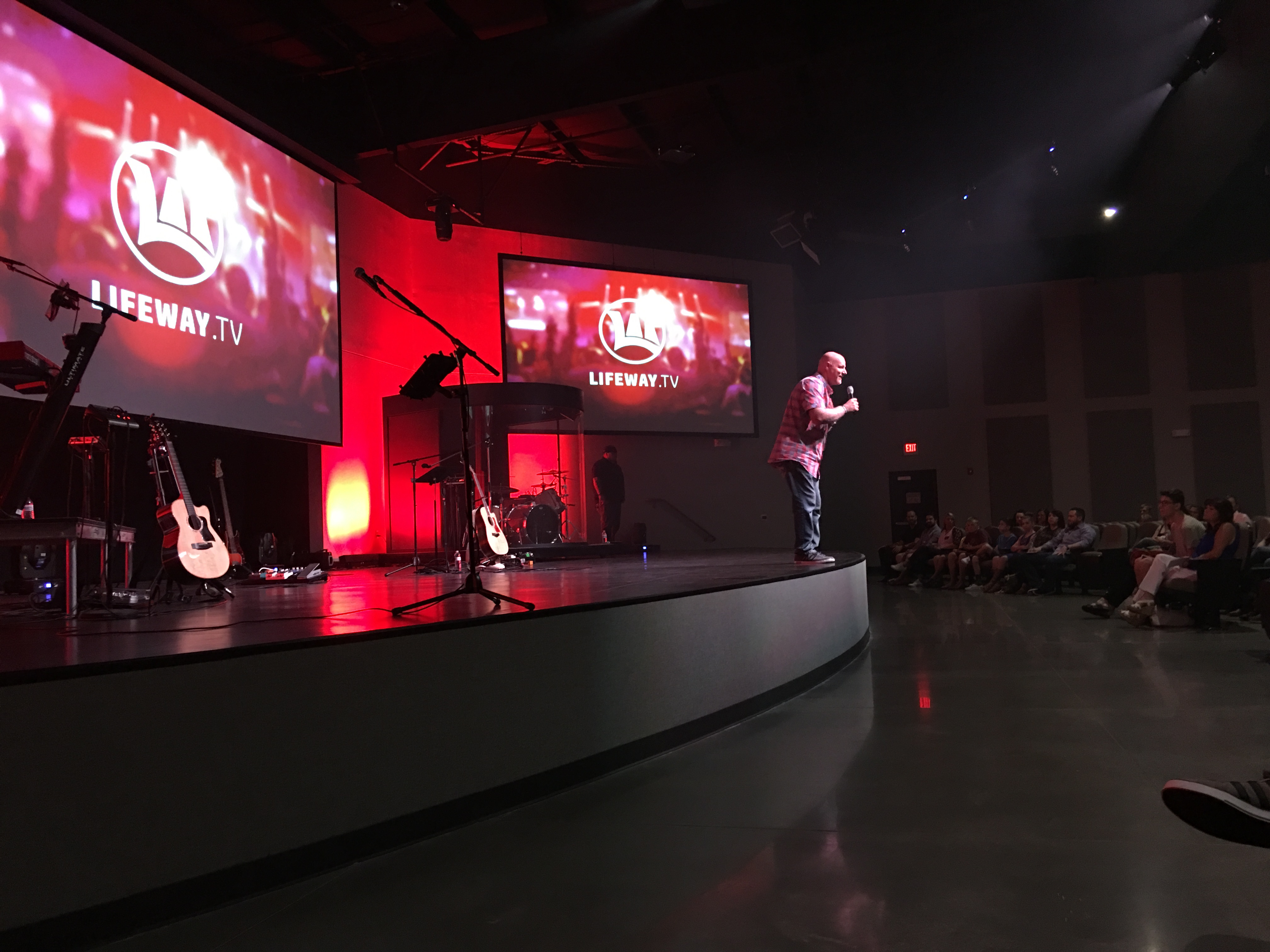 Brent Anderson teaching LifeWay