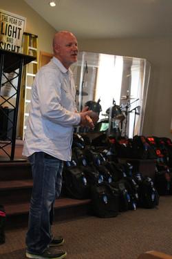 Brent Anderson backpack giveaway
