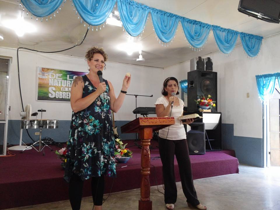 Sharon Anderson missions