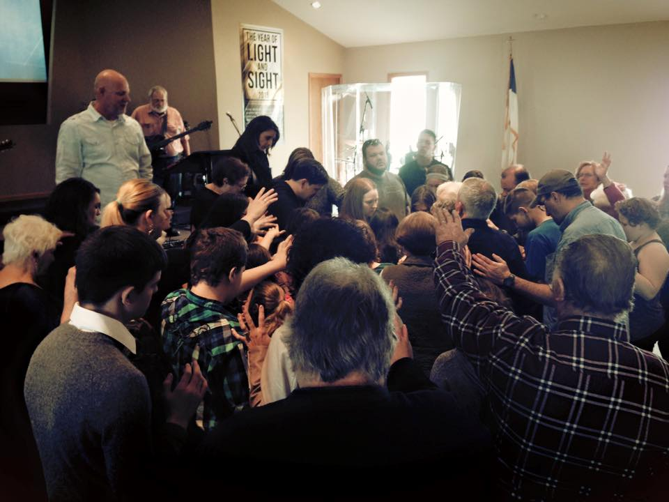 Pastor Brent Anderson youth prayer