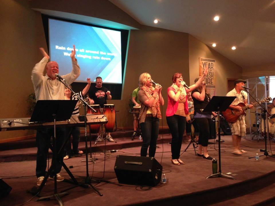 Brent Anderson community worship