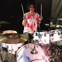Sharon Anderson drummer girl