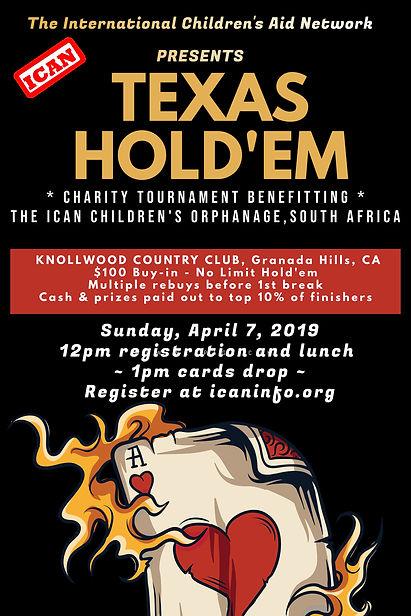 Copy of Texas Holdem Poker Flyer templat