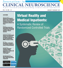 Virtual Reality and Medical Inpatients: A Review of the Evidence