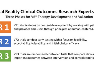 How do we advance the science of therapeutic VR? New guidelines offer blueprint