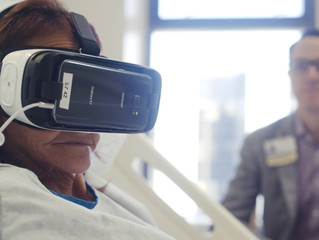VR for managing pain in hospitalized patients: A randomized trial
