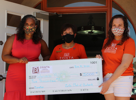 Zonta supports women impacted by public health crisis