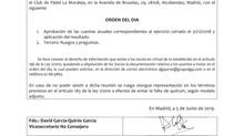 JUNTA GENERAL ORDINARIA PINAMA 2017 INVERSTARTUPS, SL