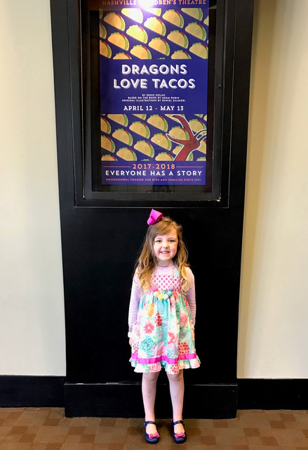 Nashville Children's Theatre: DRAGONS LOVE TACOS -- with a 4-Year-Old!