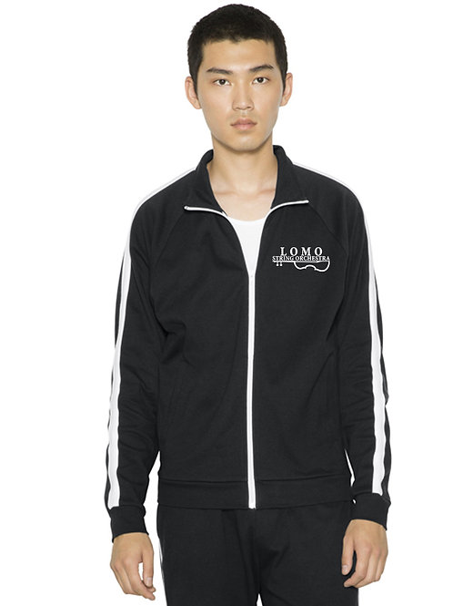 American Apparel Unisex Interlock Track Jacket