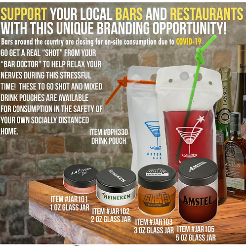 Support your Local Bars and Restaurants