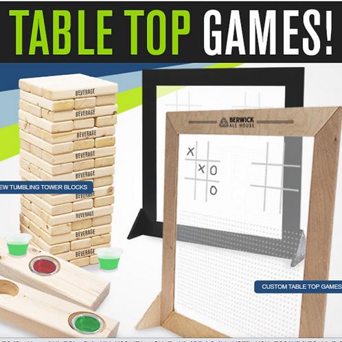 Unique Promo Table Top Games