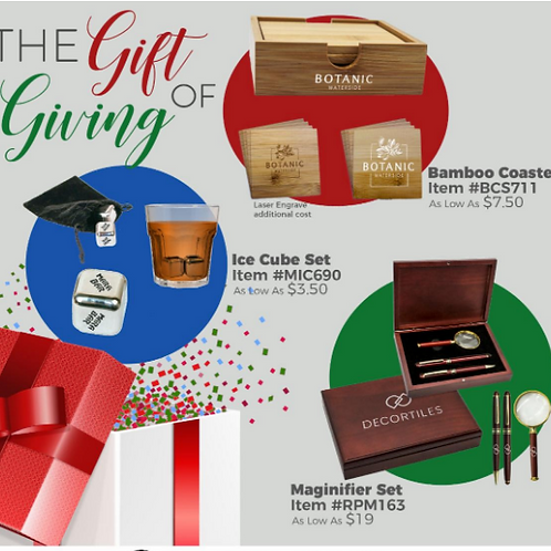 Holiday Gift Ideas with Logo