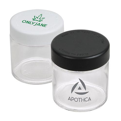 3oz Premium Glass Jar