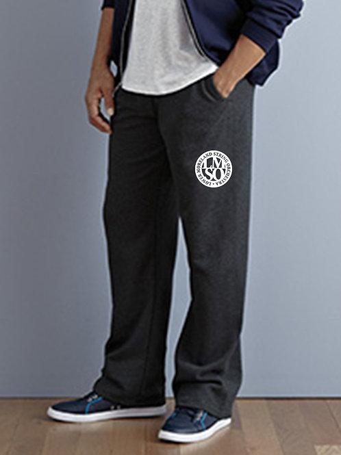 Jerzees 8 oz. NuBlend Open-Bottom Fleece Sweatpants