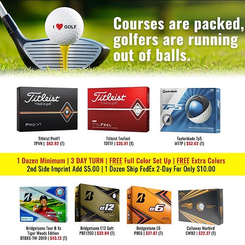 GolfBalls Dads & Grads