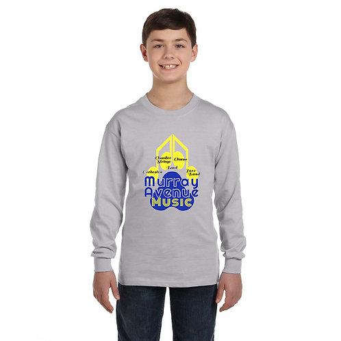 Gildan Youth 5.3 oz. Long-Sleeve T-Shirt
