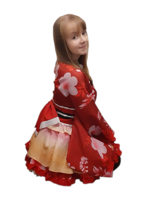 Red Yukata 6x4 Photo Print