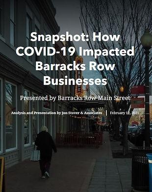Barracks Row Covid Economic Report Cover