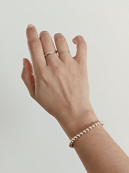 Medium Golden Bead Bracelet