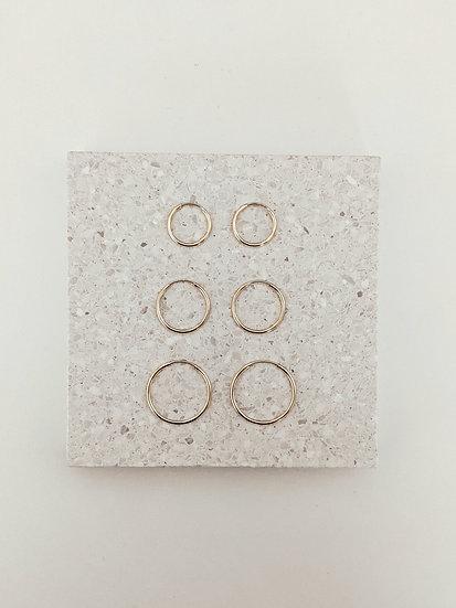 Medium Svelte Earrings