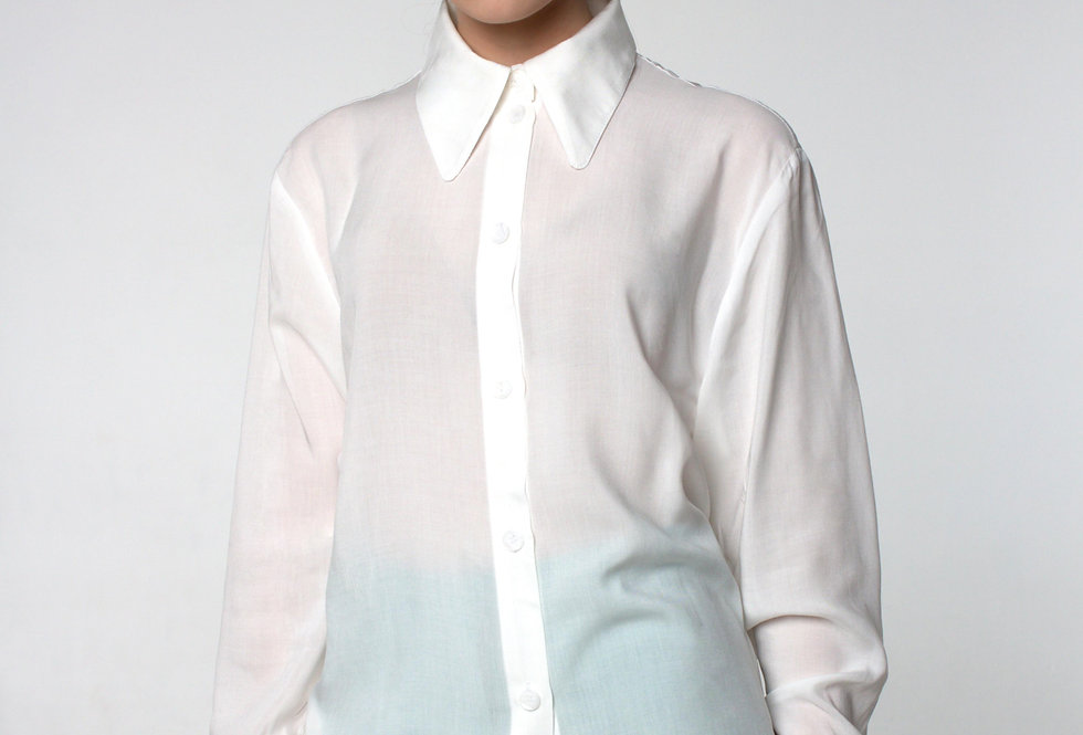Блуза вискозная /Белая