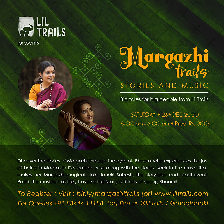Margazhi Trails by Lil Trails - Stories and Music