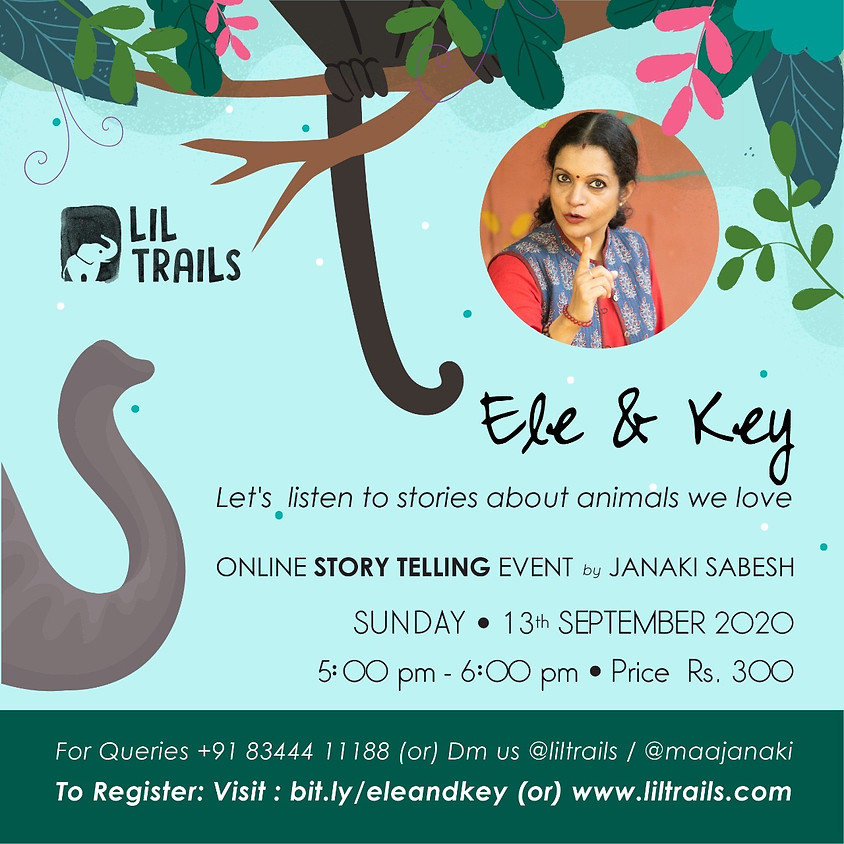 ELE & KEY – Online storytelling event