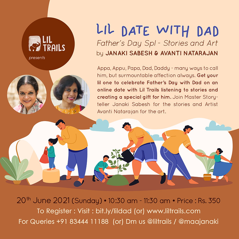 Lil Date with Dad - Stories and Art