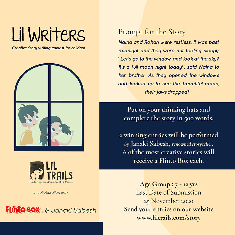 Lil Writers - Creative Story Writing Contest for Children