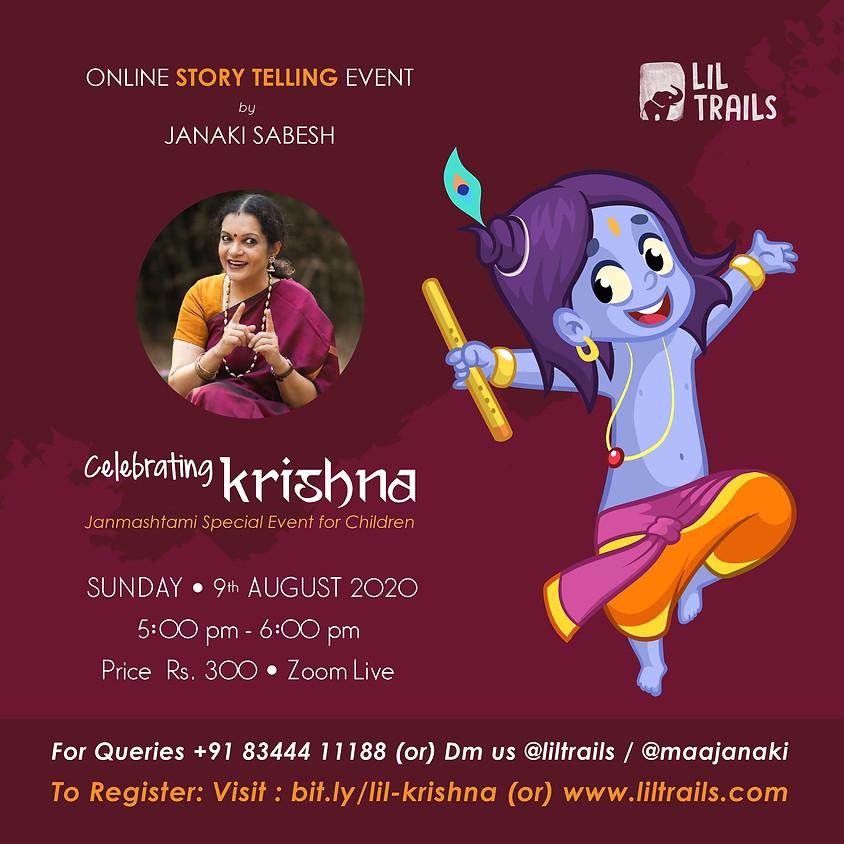 Celebrating Krishna
