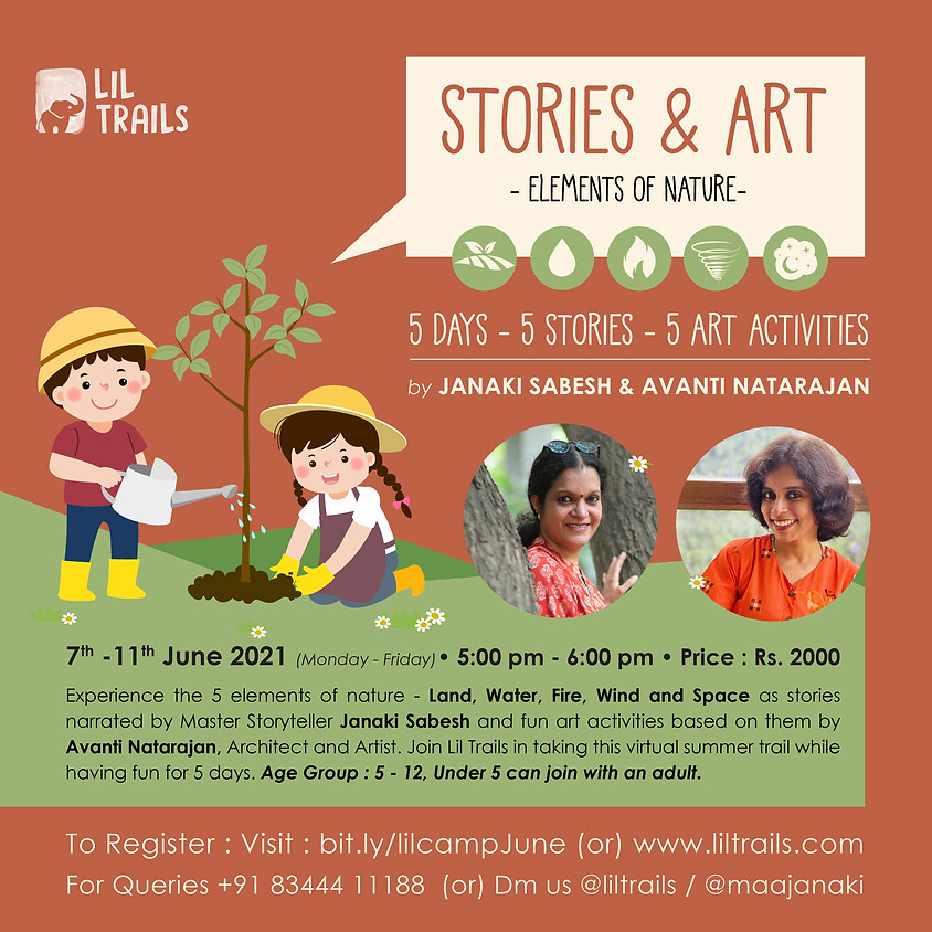 Lil Camp June Edition - Stories and Art