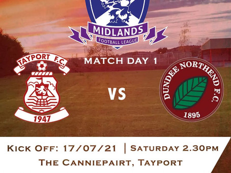 Tayport FC v Dundee North End
