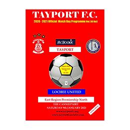 Tayport FC v Lochee United (Match Postponed)