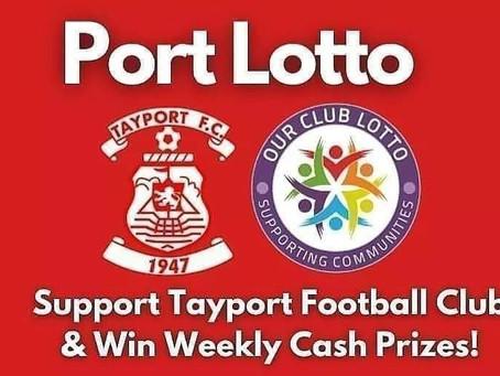 Port Lotto jackpot at £2200