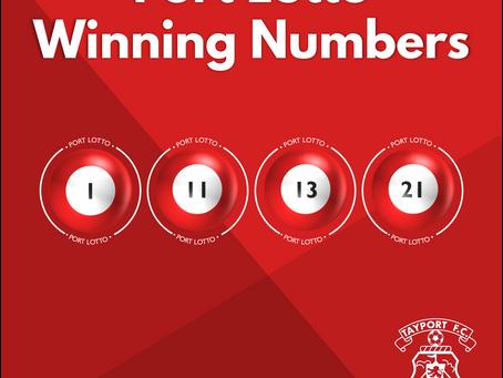 Port Lotto Winning Numbers