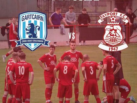 Gartcairn 5 - 2 Tayport FC (25/9/21)