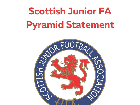 Scottish Junior FA Pyramid Statement