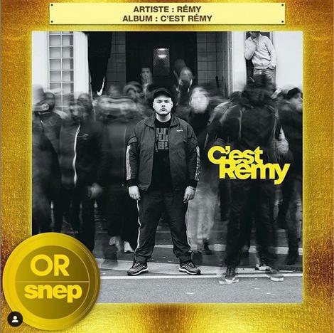 Album Or - C'est Remy