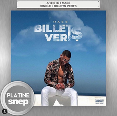 Single Platine - Billets Verts