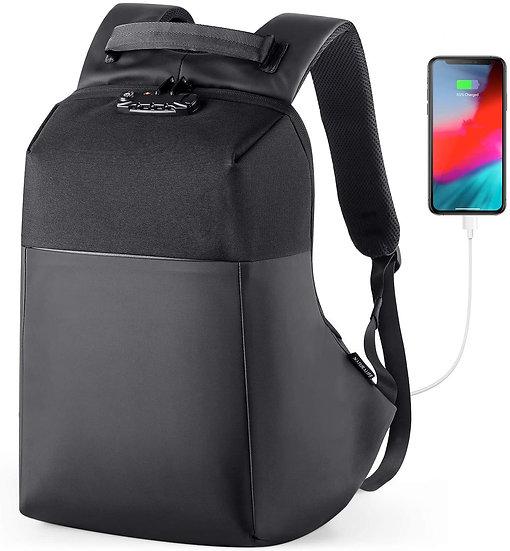 Naturalife Anti-Theft Laptop Backpack 15.6 inch TSA-Approved with Hidden Zipper