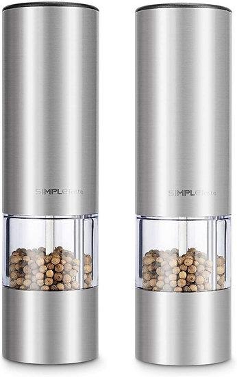 SimpleTaste Battery Powered Electric Pepper Grinder