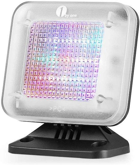1byone Fake TV Simulator Anti-Burglar and Theft Deterrent with LED Light