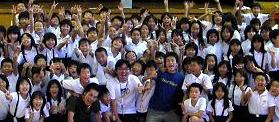 大阪市内の小学校でのワークショップ②